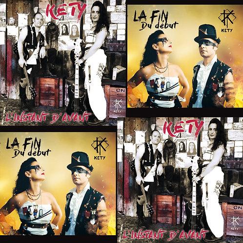 """Pack 2 CD Digipacks """"La fin du début"""" et """"L'instant d'avant"""""""