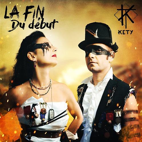 """CD digipack 4 titres """"LA FIN DU DEBUT"""""""