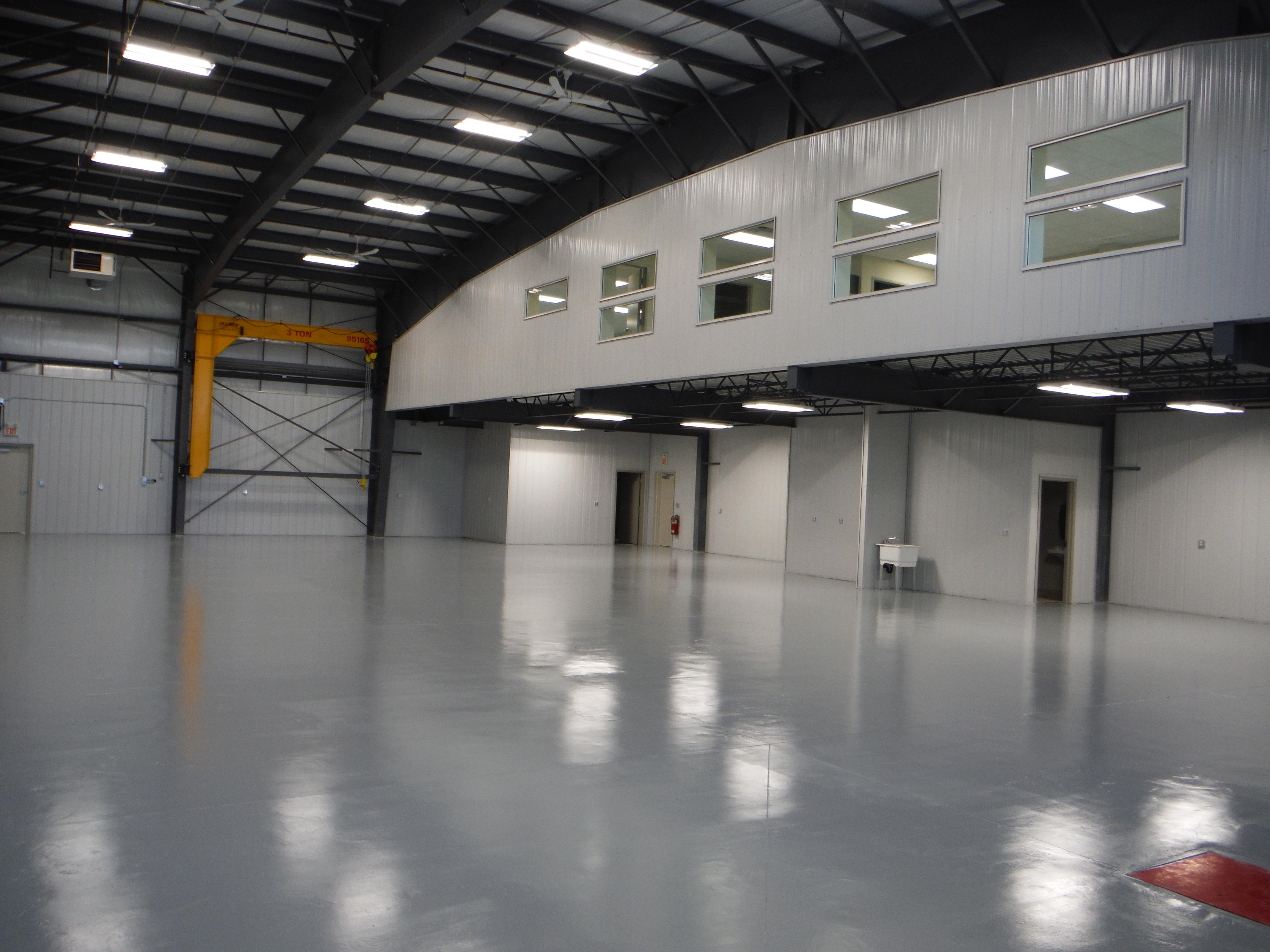 Hangar with Mezzanine