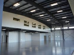 Hangar - Mezzanine and office