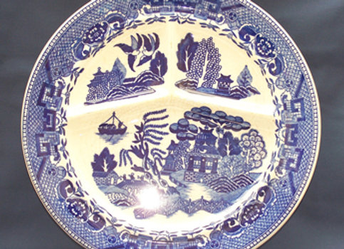 Blue Willow Grill Plate