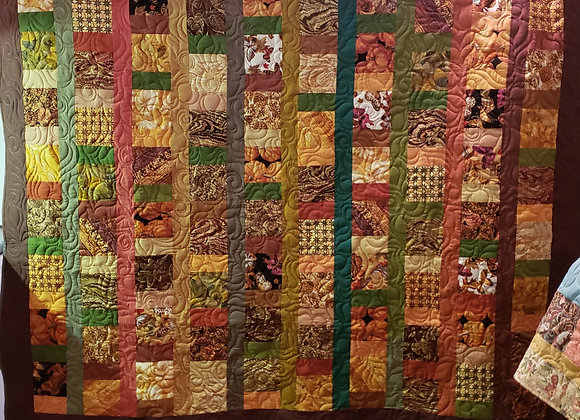 Quilt - Autumn and Pumpkin theme