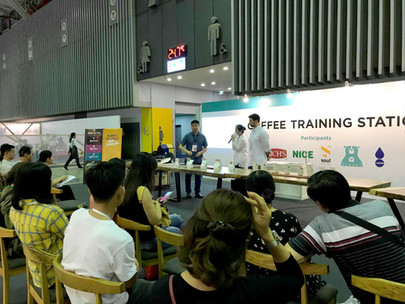 D'codeS in Cafeshow 2019 in Vietnam