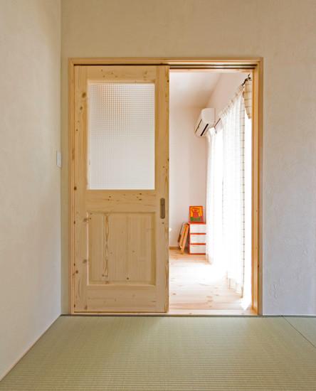 八尾 0宣言の家 出雲建築設計 大阪 東大阪 自由設計 医師が薦める健康住宅 自然素材住宅 無垢建具 天然い草畳 スペイン漆喰 シックハウス対策