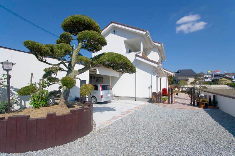 和歌山 0宣言の家 出雲建築設計 大阪 東大阪 医師が薦める健康住宅 自然素材の家 外観 完成見学会
