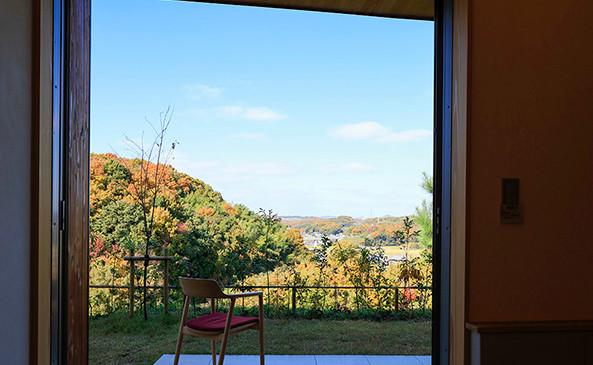 里山 設計士の家 住人十色 出雲建築設計 大阪 東大阪 カバードポーチ  団欒 開放感