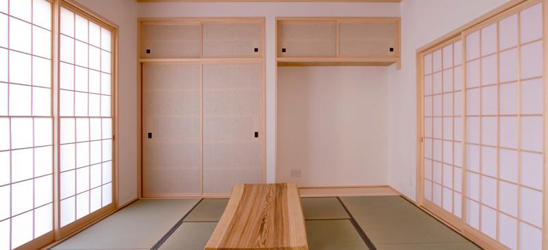 和歌山 0宣言の家 出雲建築設計 大阪 東大阪 注文住宅 健康住宅 自然素材の家 和風 和室 畳 天然い草