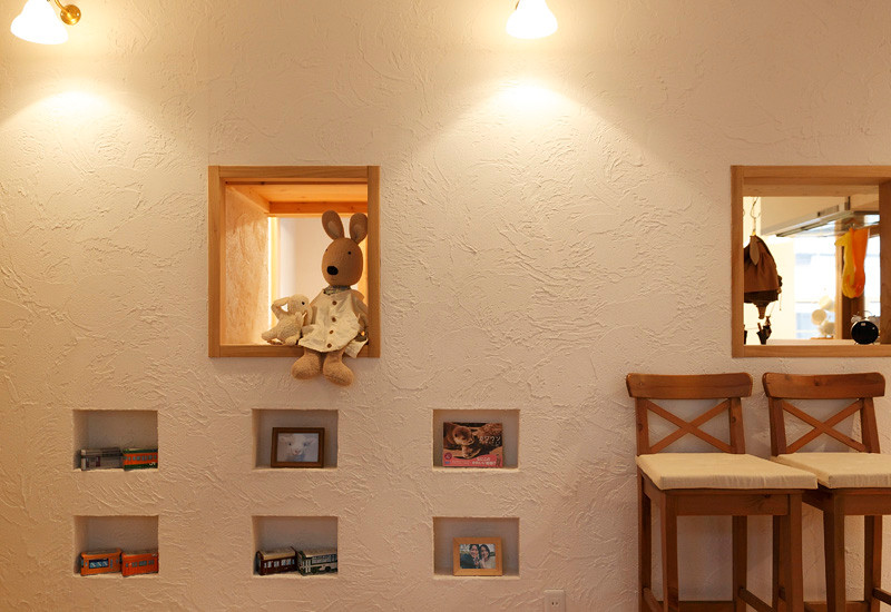 大阪 0宣言の家 出雲建築設計 東大阪 自由設計 健康住宅 自然素材の家 スペイン漆喰壁 自浄作用 調湿効果 結露防止 ダニ・カビ防止