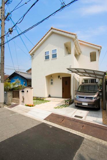 大阪 藤井寺自然素材の家平屋の