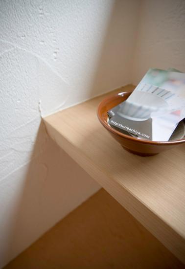 寝屋川 0宣言の家 出雲建築設計 大阪 東大阪 自由設計 健康住宅 自然素材の家 無垢カウンター材 壁スペイン漆喰塗り 調湿効果