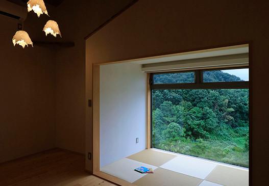 里山 設計士の家 住人十色 出雲建築設計 大阪 東大阪 注文住宅 健康住宅 自然素材住宅 畳スペース 無垢フローリング