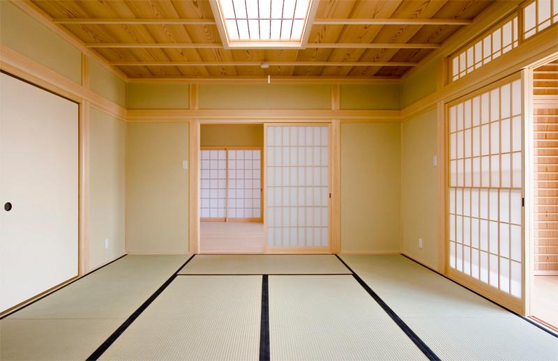 和歌山 0宣言の家 出雲建築設計 大阪 東大阪 注文住宅 医師が薦める健康住宅 自然素材住宅 和風 内観 畳