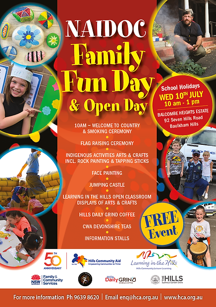 HC1007 A5 Naidoc Fun Day Flyer_June19.pn