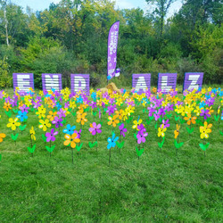 Flowers with End Alz