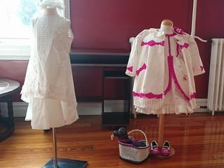 Exposicion de vestidos de papel