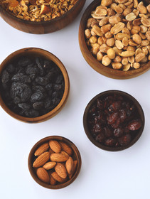 Detox Dried fruit and nuts snack