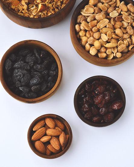 Früchte und Nüsse