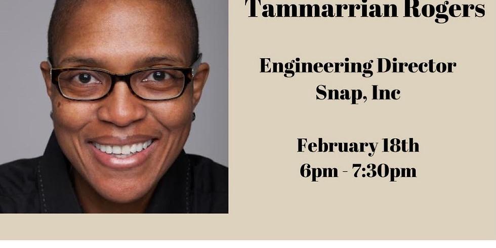 Black Tech Talk: Tammarrian Rogers