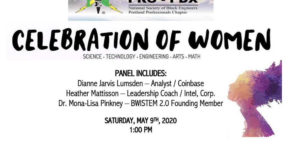 (Virtual) Celebration of Women in STEAM Event