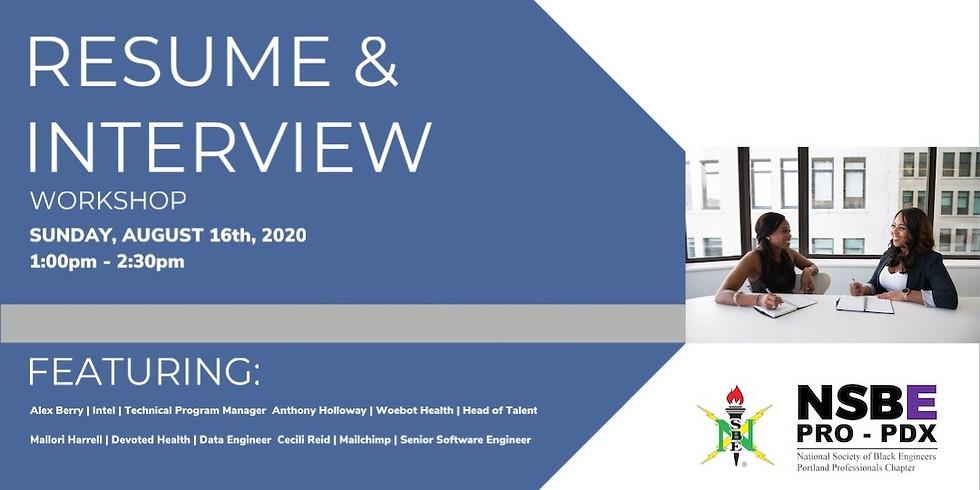 Interview & Resume Workshop