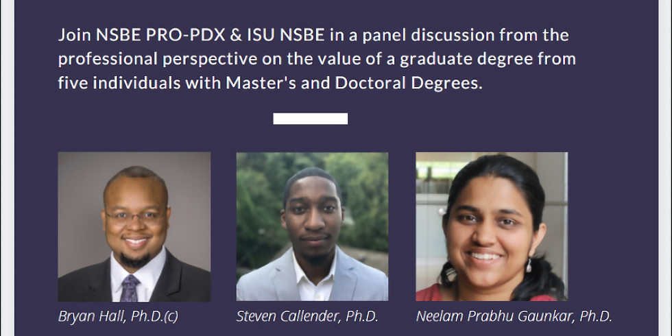 A Professional Perspective on the Value of a Graduate Degree