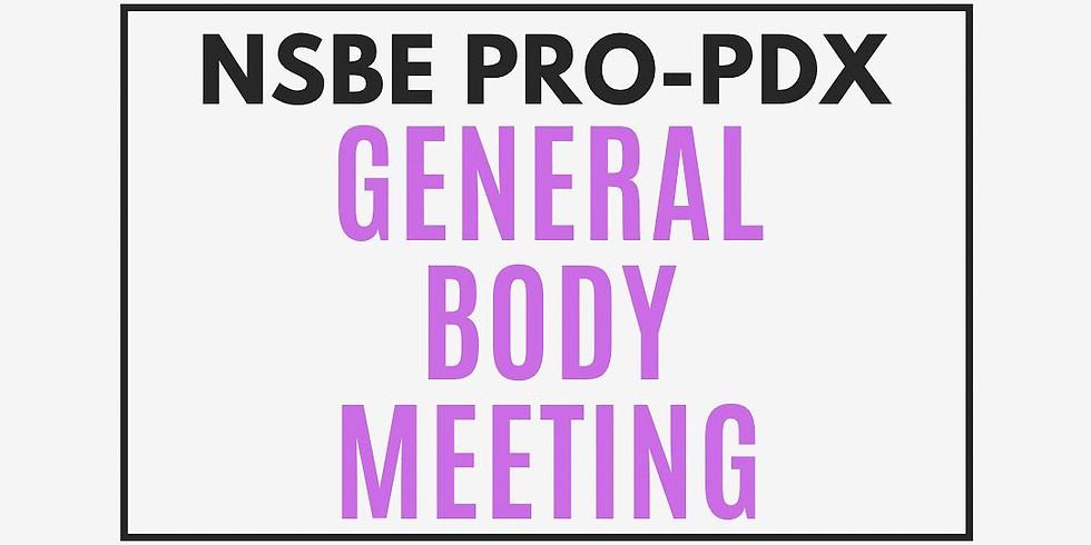 April General Body Meeting