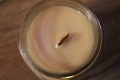 one eighty candle wood wick