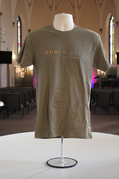 one eighty t shirt - olive