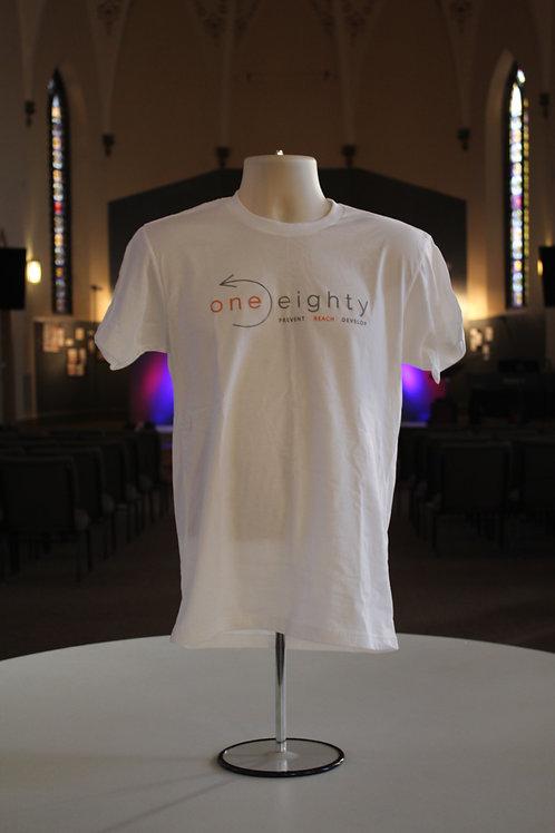 one eighty t shirt - white