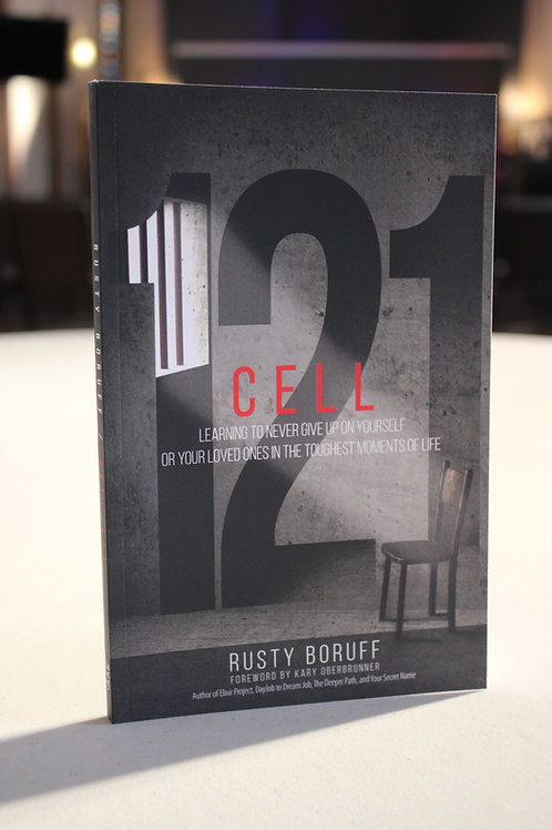 """Cell 121"" Book by Rusty Boruff"