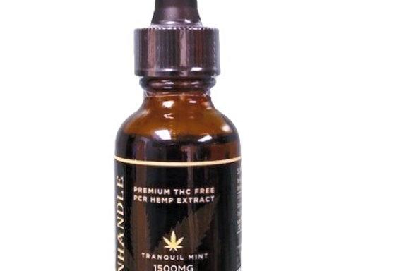 1500 mg CBD Mint Tincture