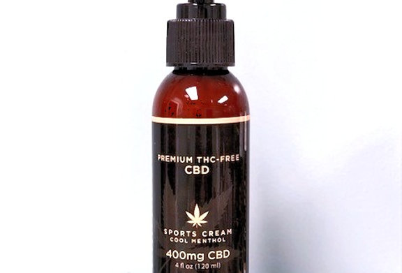 400 mg Scented CBD  Sports Lotion