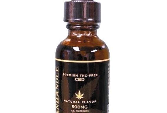 500 mg CBD Natural Tincture