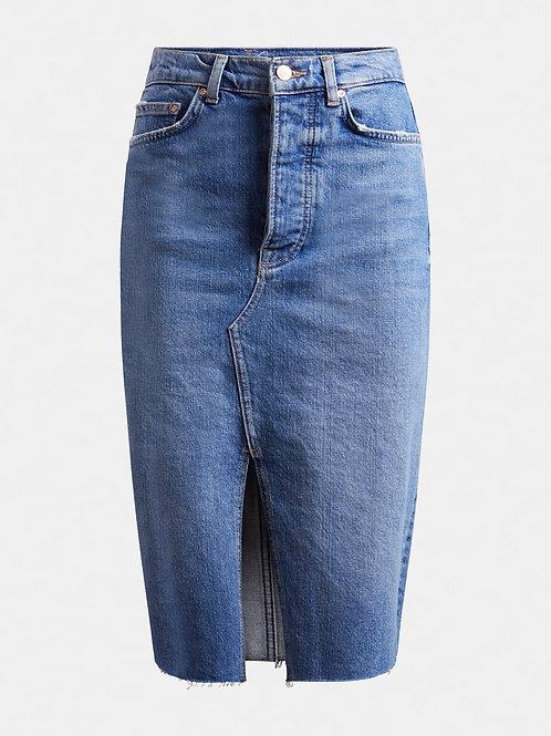 GUESS - Denim Slit Skirt