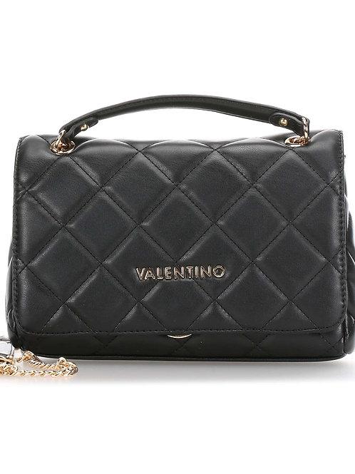 Mario Valentino - Quilted Shoulder Bag BLK