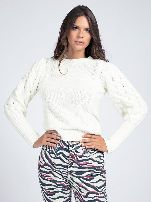 GUESS Balloon Sleeve Sweater