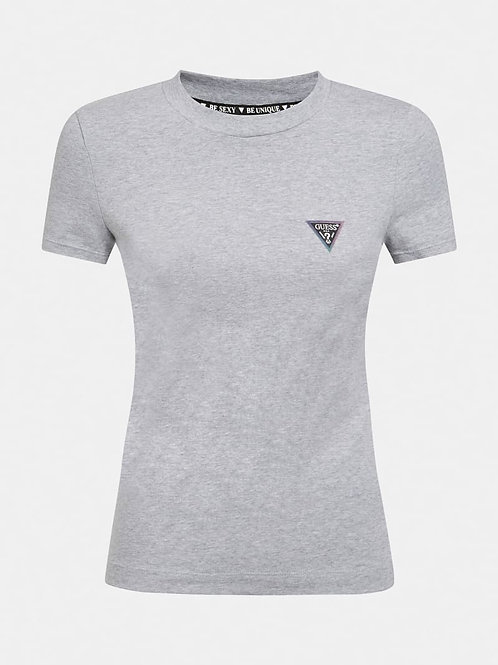 GUESS - Triangle Logo Tee (grey)