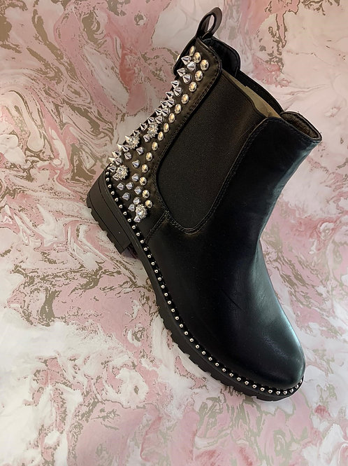 Silver Stud Boot