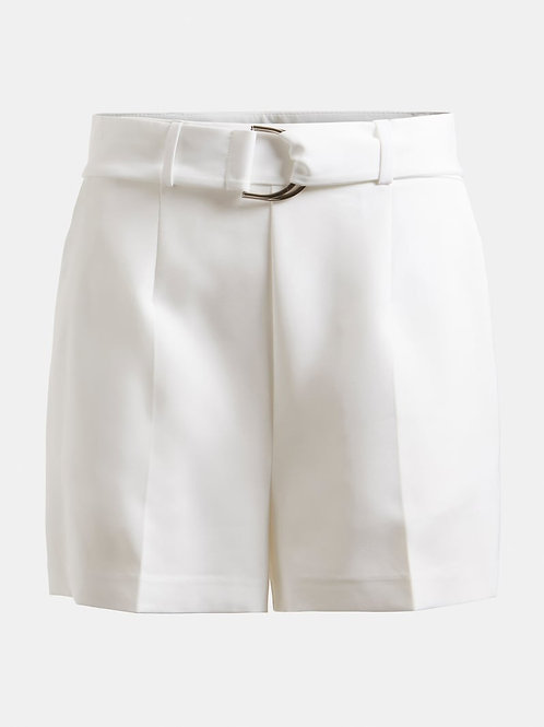 GUESS - Belted Shorts (white)