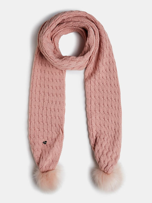 GUESS Pom Scarf - Pink