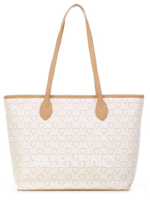 MARIO VALENTINO Cream Tote Bag