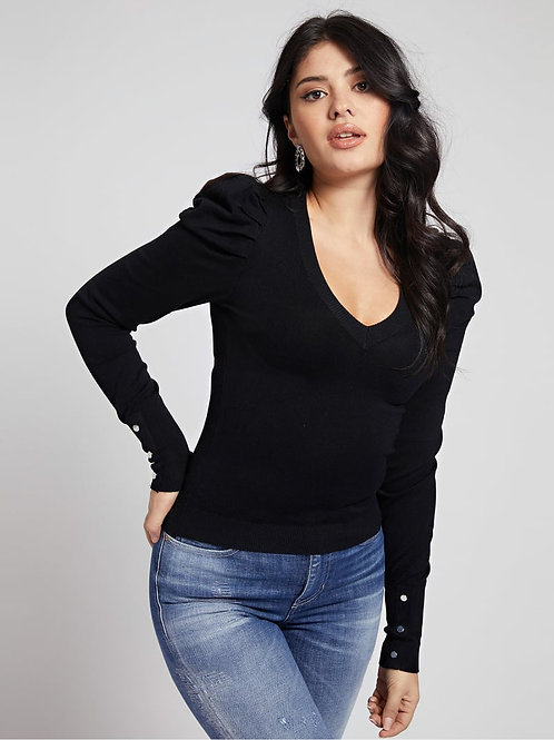 GUESS - V-Neck Sweater (black)