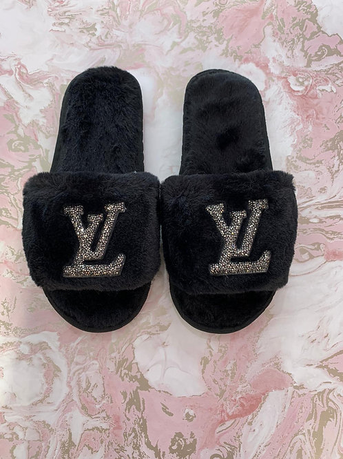 Louis Inspired Slippers