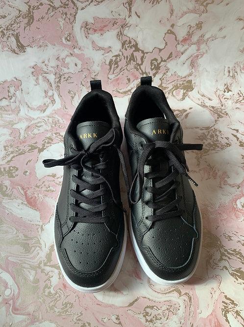 ARKK Leather Trainers - Black