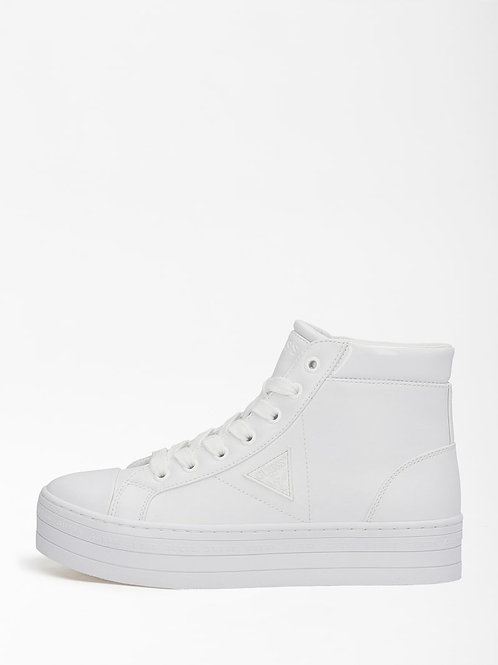 GUESS High-top Sneaker - White