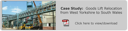 Industrial Relocation West Yorkshire to South Wales