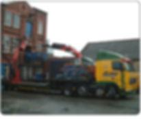 Loom Machinery removals wagon crane hire