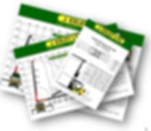 J. Exley Vehicle Data Sheets