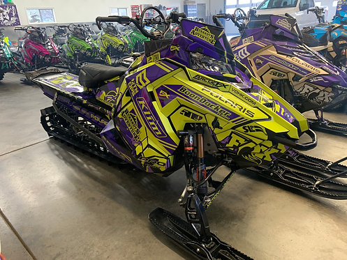 2020 Polaris Axys RMK 850 BD Turbo, 155 with cut tunnel