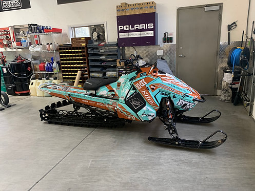 2020 Polaris Axys RMK 850 BD Turbo 163 with Cut Tunnel